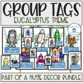 Rotation and Color Group Tags for Task Boards Eucalyptus Theme