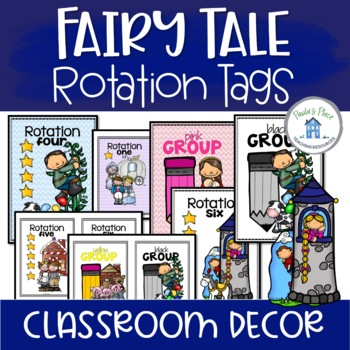 Rotation and Group Tags Fairy Tale Theme