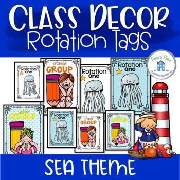 Rotation and Group Tags - Sea Theme