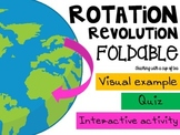 Rotation and Revolution: A foldable, a quiz and an interactive activity