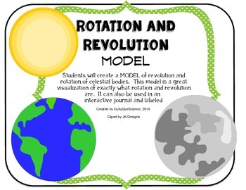 Rotation and Revolution (Earth's Movement) Model