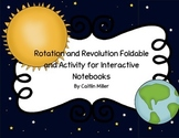 Rotation and Revolution Foldable and Activity for Interactive Notebooks