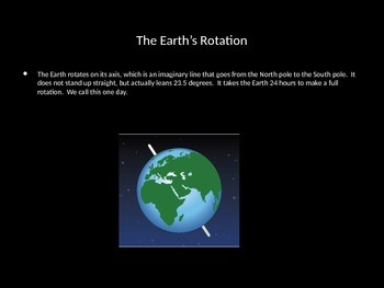 Rotation and Revolution of the Earth