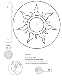 Rotation of the Sun, Moon, & Earth