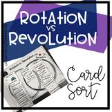 Rotation v Revolution Card Sort