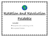 Rotation vs. Revolution Foldable