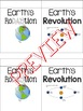 Rotation vs. Revolution Foldable (RoDAYtion and Revolution)