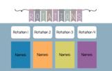 Rotational Activities PowerPoint