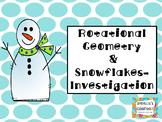 Rotational Geometry Snowflake Investigation