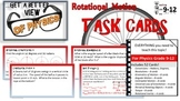 Physics Task Cards Rotational Motion