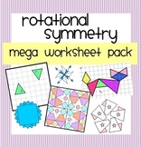 Rotation Symmetry Mega Worksheet Pack
