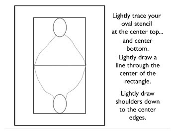 Rotational Symmetry Playing Card Portrait Paintings