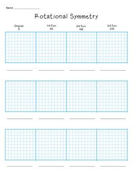 Rotational Symmetry Squares