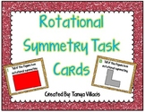 Rotational Symmetry Task Cards COMMON CORE ALIGNED 4.G.A.3