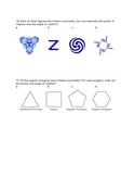 Rotational Symmetry Worksheet