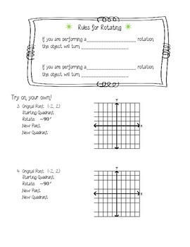 Rotations With Trace Paper