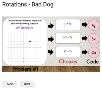 Rotations – Bad Dog Breakout for Google Classroom!