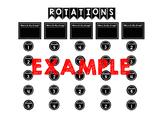 Rotations Bulletin Board