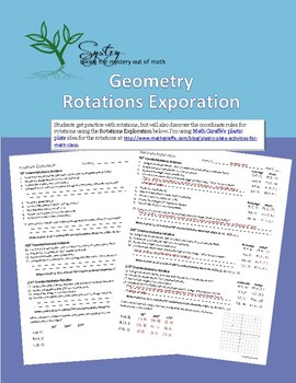 Rotations Exploration