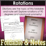 Rotations Foldable & Rotational Symmetry Guided Notes