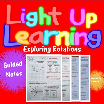 Transformations Rotations Guided Notes