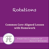 Rotations (Lesson with Homework)