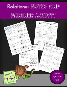 Rotations: Notes and Partner Activity