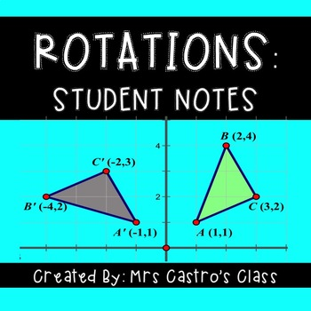 Rotations: Student Notes