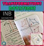 Rotations - Transformations Foldable