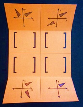 Rotations Using Matrices (Geometry Foldable)