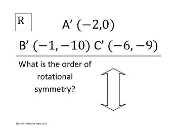 Rotations around the origin and Rotational Symmetry Around the World Activity