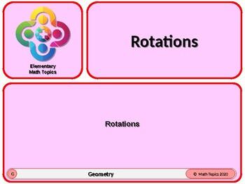 Rotations for Elementary School Math