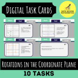 Rotations in the Coordinate Plane Digital Task Cards