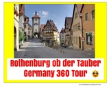 Rothenburg ob der Tauber Germany Tour Project  - distance learning