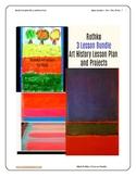 Rothko Art 3 Lesson Bundle No. 7 No. 6 No. 1 PreK-4th Grad