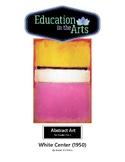 Rothko White Center 1950 Abstract Art