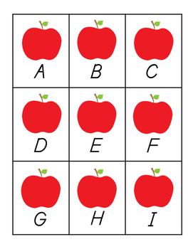 Rotten Alphabet Game (D'Nealian)