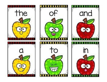 Rotten Apple! A Sight Word Game