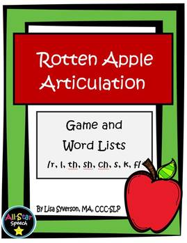 Rotten Apple Articulation Game