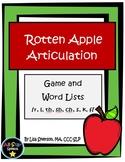 Rotten Apple Articulation Game