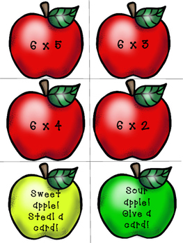 Rotten Apple Multiplication Game