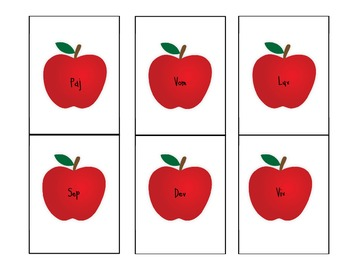 Rotten Apple Nonsense Word Game