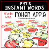 Instant Words - Sight Word Practice Game Set One