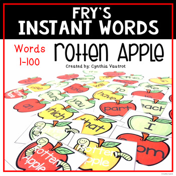 Rotten Apple - a Sight Word Game