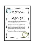 Rotten Apples Artic /S/ & /Z/