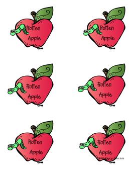 Rotten Apples - Third 100 Fry Words