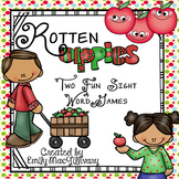 Rotten Apples: Two Fun High Frequency Word Games
