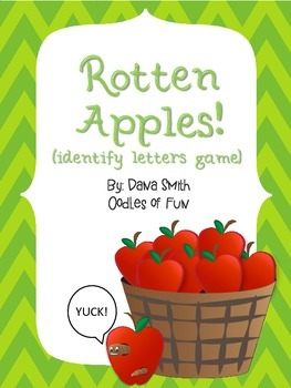 Rotten Apples! (idenitfy letters game)