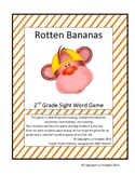 Second Grade Sight Word Game - Rotten Bananas
