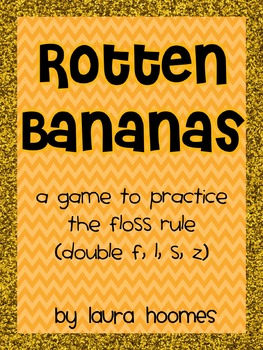 Rotten Bananas- A FLOSS game